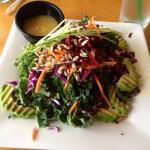 veg kale salad