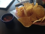 mexicali chips:salsa